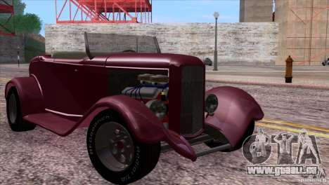 Ford Roadster 1932 pour GTA San Andreas vue de dessous