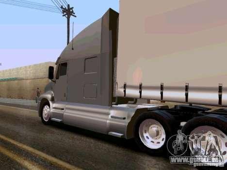 Kenworth T2000 v.2 pour GTA San Andreas sur la vue arrière gauche