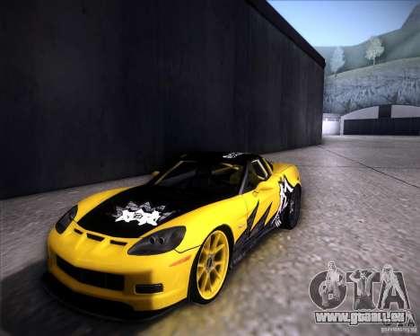 Chevrolet Corvette C6 super promotion für GTA San Andreas