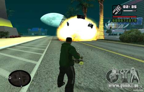 New Effects [HQ] pour GTA San Andreas