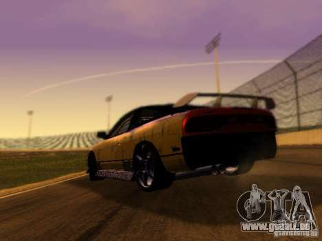 Nissan 240sx Street Drift für GTA San Andreas zurück linke Ansicht
