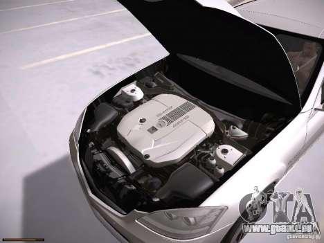 Mercedes Benz S65 AMG 2012 pour GTA San Andreas vue arrière