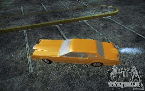 Lincoln Continental Mark IV 1972 pour GTA San Andreas laissé vue