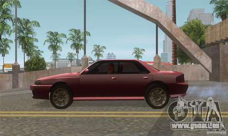 New Sultan HD für GTA San Andreas linke Ansicht