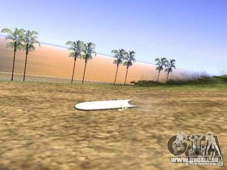 Aèrobord du film Retour vers le futur 2 pour GTA San Andreas