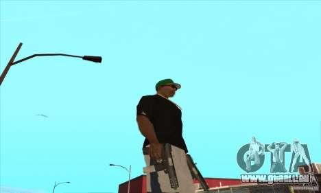 WEAPON BY SWORD pour GTA San Andreas onzième écran