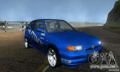 Opel Astra Time Attack pour GTA San Andreas vue arrière