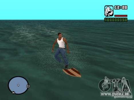Cerf pour GTA San Andreas deuxième écran