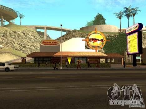New Burger Shot pour GTA San Andreas