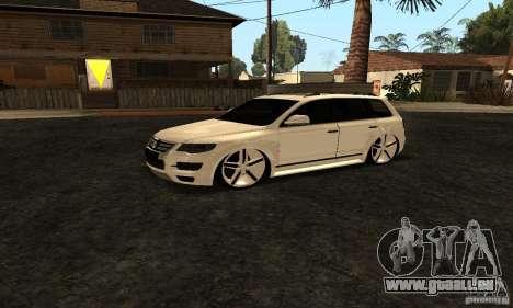 Volkswagen Touareg Dag Style pour GTA San Andreas vue de droite