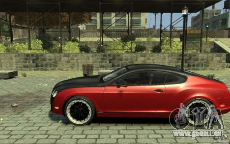 Bentley Continental GT SS pour GTA 4 est une gauche