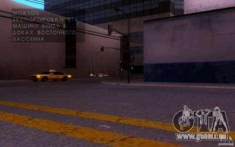 ENBSeries by muSHa v1.5 pour GTA San Andreas deuxième écran