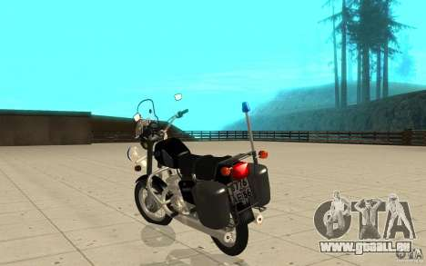IZ Jupiter 5 DPS pour GTA San Andreas sur la vue arrière gauche