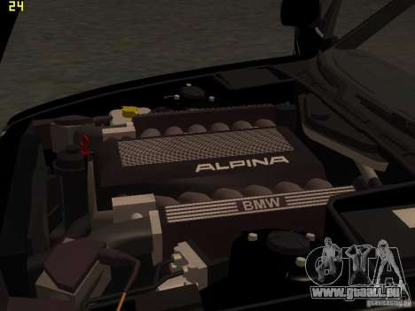 BMW E34 Alpina B10 Bi-Turbo pour GTA San Andreas vue de côté