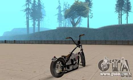 Chopper Shovel HD v2.1-mat pour GTA San Andreas laissé vue