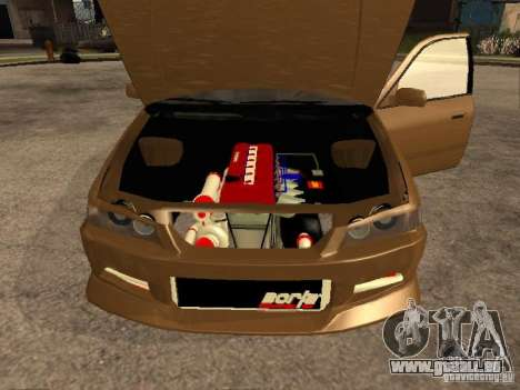 Toyota Camry 2002 TRD für GTA San Andreas rechten Ansicht