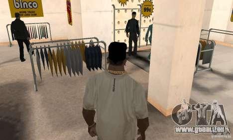 Bandana-batman für GTA San Andreas dritten Screenshot
