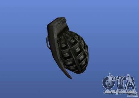 Grenade pour GTA 4 secondes d'écran