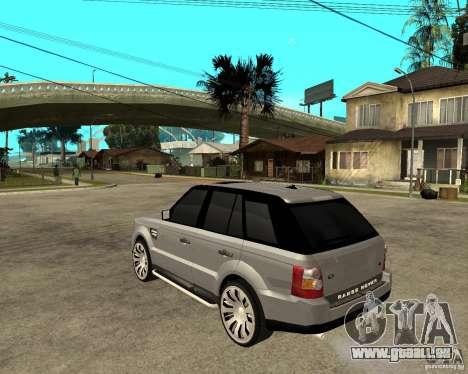 RANGE ROVER SPORT für GTA San Andreas linke Ansicht