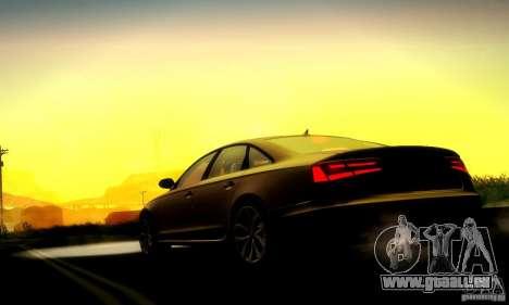 Audi A6 2012 für GTA San Andreas Innenansicht