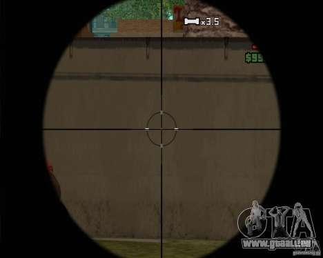 Schnickschnack für Waffen für GTA San Andreas siebten Screenshot