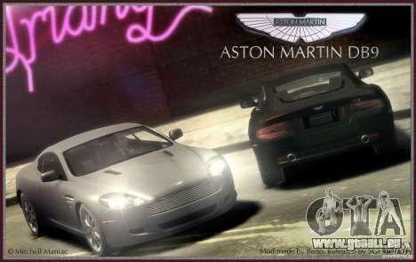 Aston Martin DB9 pour GTA 4