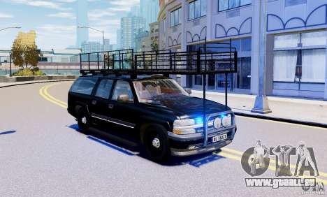 Chevrolet Suburban 2003 Norwegian SWAT Edition für GTA 4