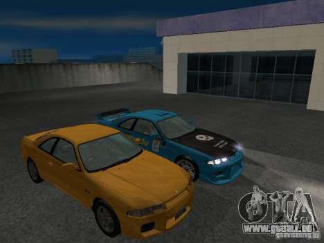 Nissan Skyline R 33 GT-R für GTA San Andreas obere Ansicht