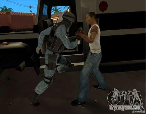 Los Angeles S.W.A.T. Skin für GTA San Andreas fünften Screenshot