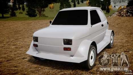 Fiat 126p Bis Rally pour GTA 4