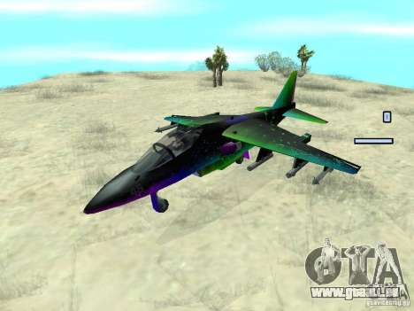 Colorful Hydra pour GTA San Andreas vue de droite