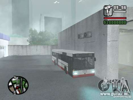 MAN SL 202 pour GTA San Andreas vue de droite