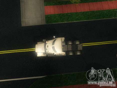 Kenworth T908 pour GTA San Andreas vue intérieure