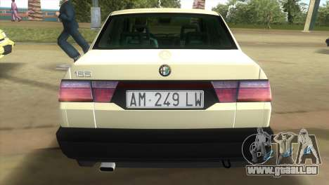 Alfa Romeo 155 Entry 1992 für GTA Vice City linke Ansicht