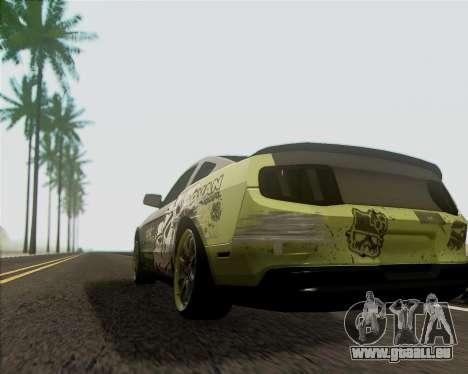 Ford Mustang Boss 302 für GTA San Andreas rechten Ansicht