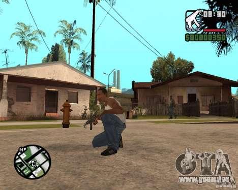 VZ-61 Scorpion für GTA San Andreas zweiten Screenshot