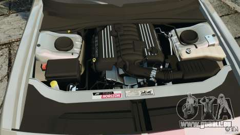 Dodge Challenger SRT8 392 2012 pour GTA 4 vue de dessus