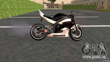 Yamaha YZF-R6 Street Fighter für GTA San Andreas