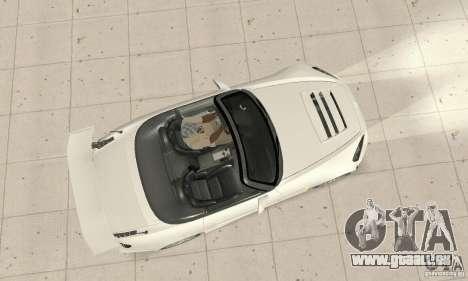 Honda S2000 Cabrio West Tuning pour GTA San Andreas vue de droite
