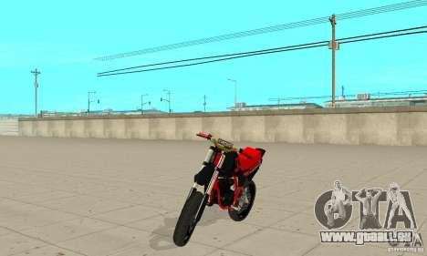 DT 180 Motard für GTA San Andreas