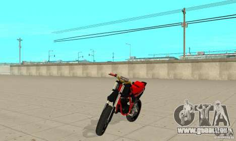 DT 180 Motard pour GTA San Andreas