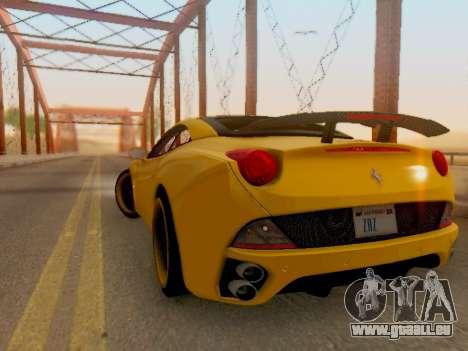 Ferrari California Hamann 2011 für GTA San Andreas rechten Ansicht