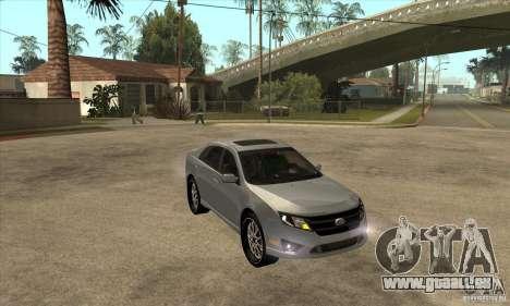Ford Fusion V6 DUB 2011 pour GTA San Andreas vue arrière
