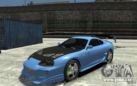 Toyota Supra Black Tuning pour GTA 4