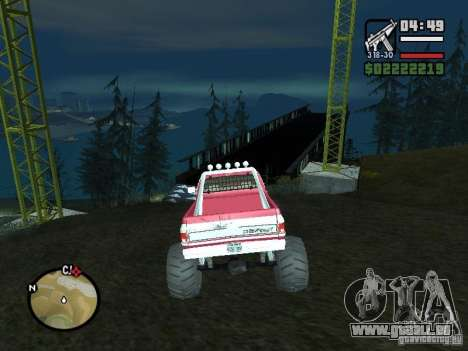 Monster tracks v1.0 pour GTA San Andreas troisième écran