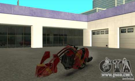 Nouveau vélo de Star Wars pour GTA San Andreas