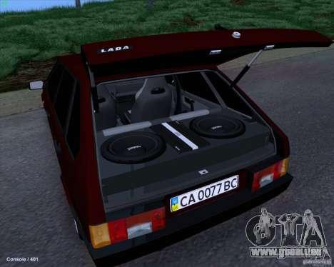 VAZ 2109 für GTA San Andreas Seitenansicht