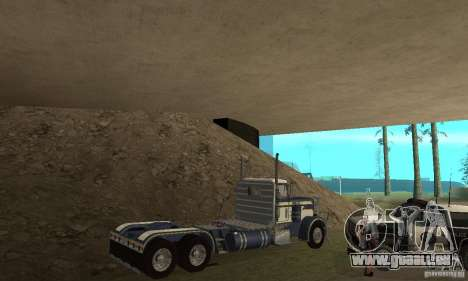 Peterbilt 359 1978 für GTA San Andreas obere Ansicht