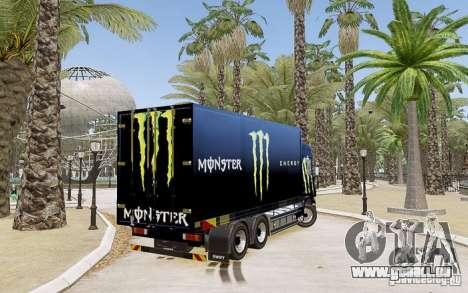 Scania R580 Monster Energy pour GTA 4 est une gauche