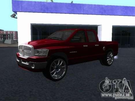Dodge Ram 1500 v2 für GTA San Andreas rechten Ansicht